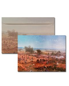 ''Pickett's Charge'' Cyclorama Greeting Card