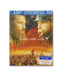 Blu-Ray  Gettysburg, The Movie [Director's Cut]