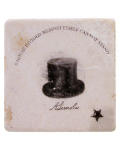 Lincoln's Hat Coaster