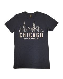 Adult Chicago Skyline Tee