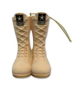 Army Combat Boots Ornament