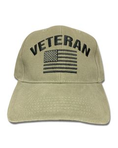 Veteran Flag low Profile Cap