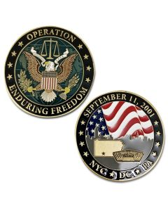 Enduring Freedom 9/11 Coin