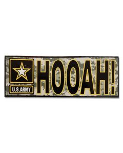 HOOAH! Decal With US Army Star