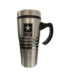 US Army Travel Mug with Handle