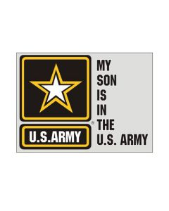 My Son Is In The U.S. Army Decal