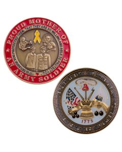 Proud Mother of An Army Soldier Challenge Coin
