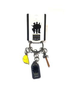 National Museum of the U.S. Army Construction Keychain