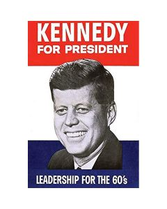 Kennedy for President 11 x 14 Matted Print