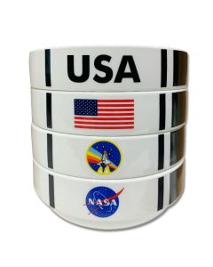 NASA Shuttle Bowl Set