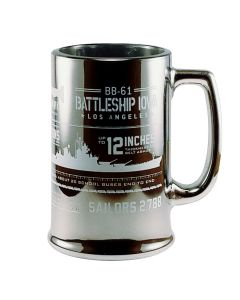 BB-61 Battleship IOWA Infographic Mug