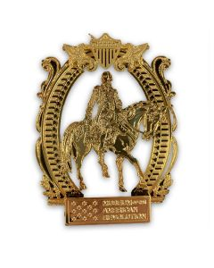 George Washington on Horseback Ornament
