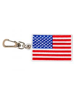 USA Flag Backpack Clip
