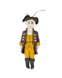 George Washington Felt Ornament