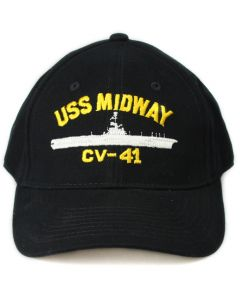 Adult USS Midway Authentic Cap