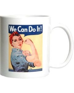 Rosie the Riveter Ceramic Mug