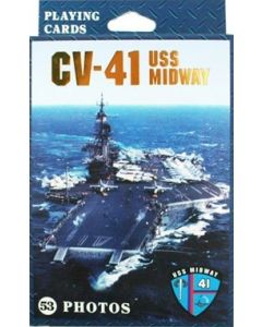 USS Midway Playing Cards