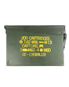 Used 30 Cal Ammo Can