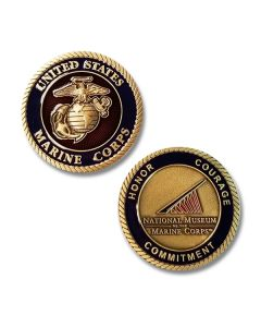 USMC Honor Courage Commitment Challenge Coin