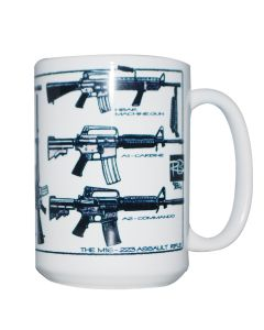 The M16-223 Assault Rifle Mug