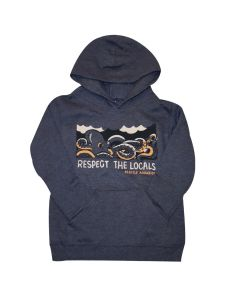Youth Respect the Locals Hooded Sweatshirt