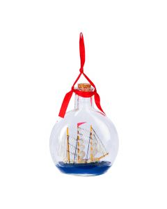 Ship In Bottle Ornament